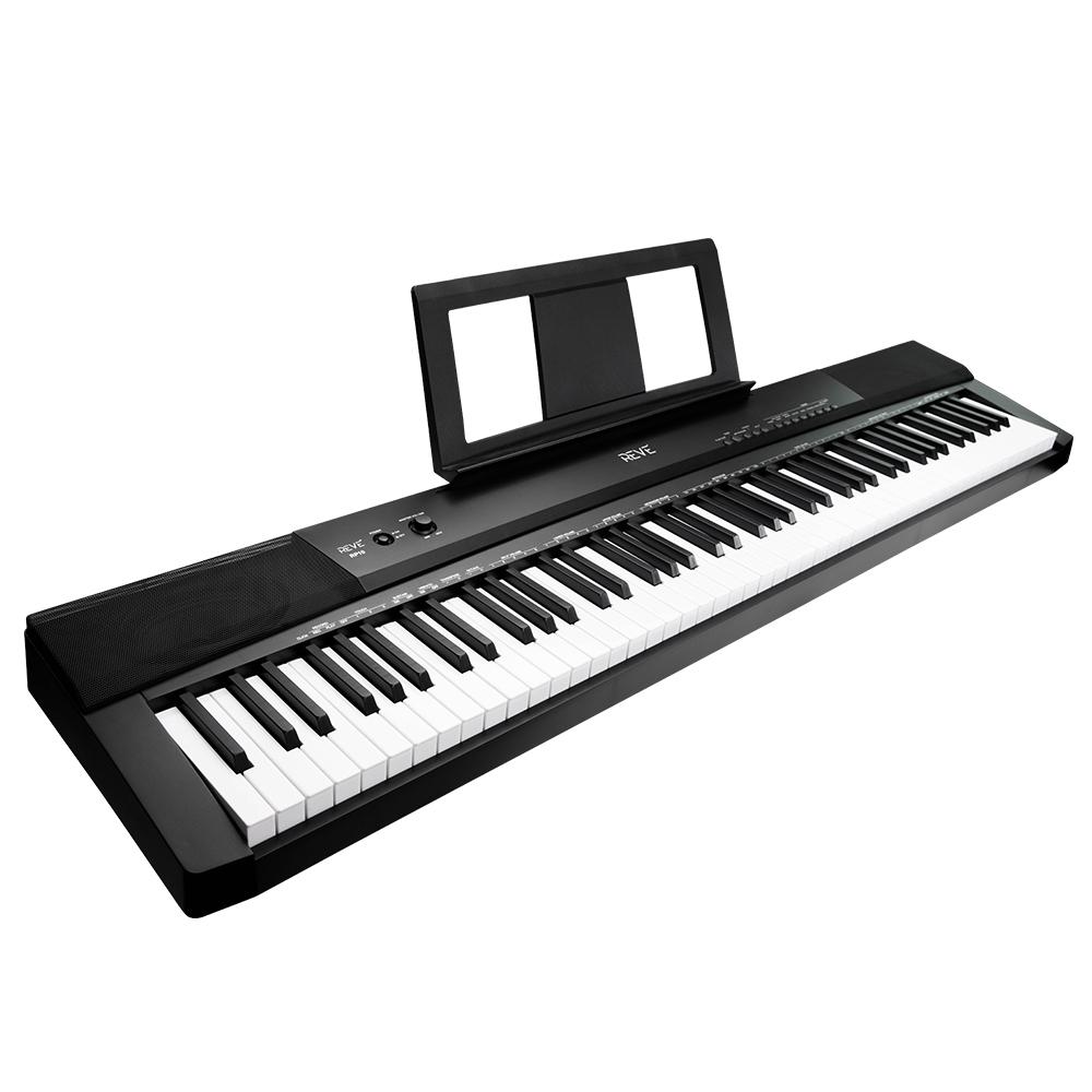 레브악기 88건반 디지털피아노 RP10, RP10 BK, 블랙