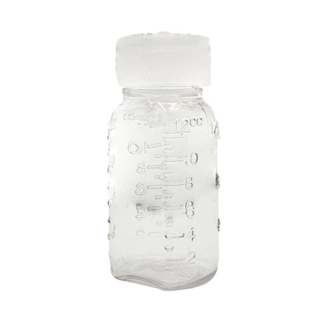 신도공업 일회용 단뚜껑 약병 PET 딱딱이 12cc, 100개 (POP 5455954104)
