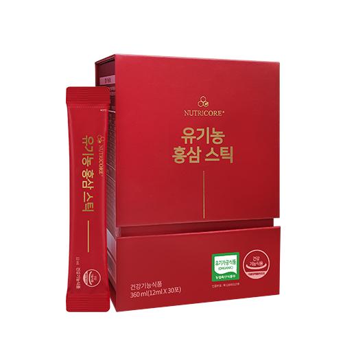 뉴트리코어 유기농 홍삼 스틱 30p, 360ml, 1개