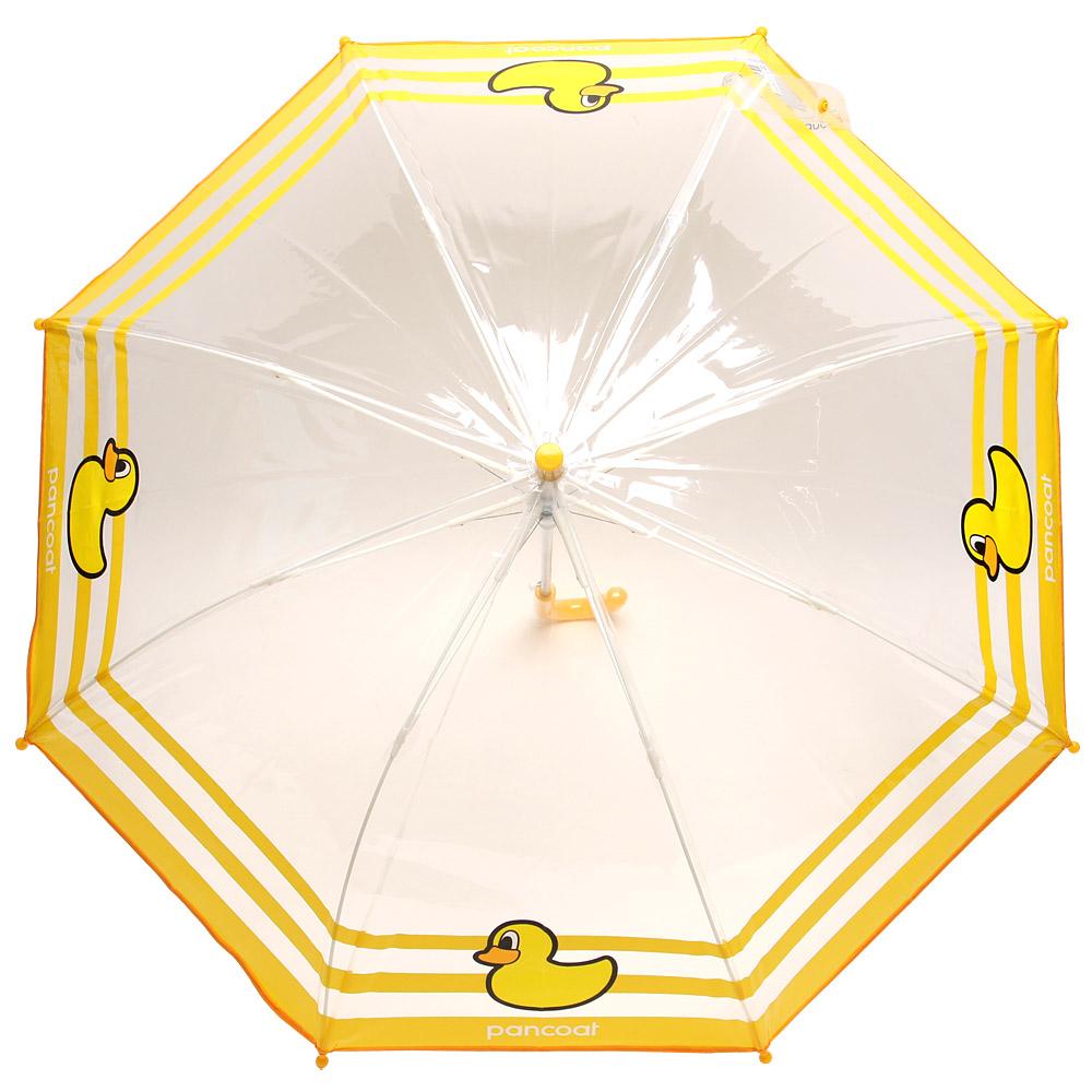 팬콧 아동용 팝덕 마린 투명 우산