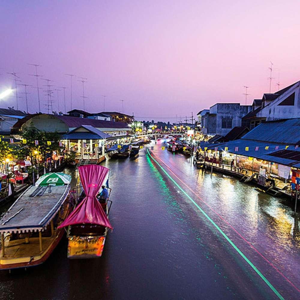 [방콕] 암파와 주말시장+반딧불 투어