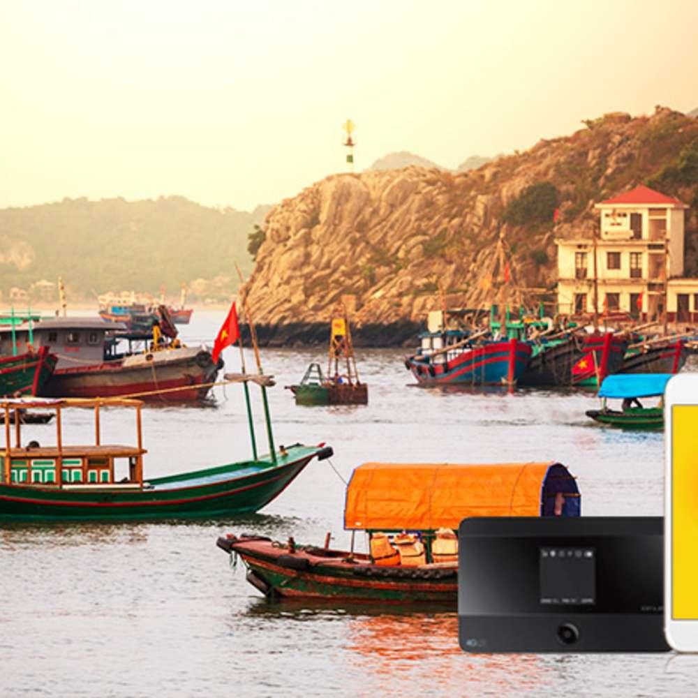 [베트남] 베트남 포켓와이파이 LTE데이터 말톡 해외통화무료