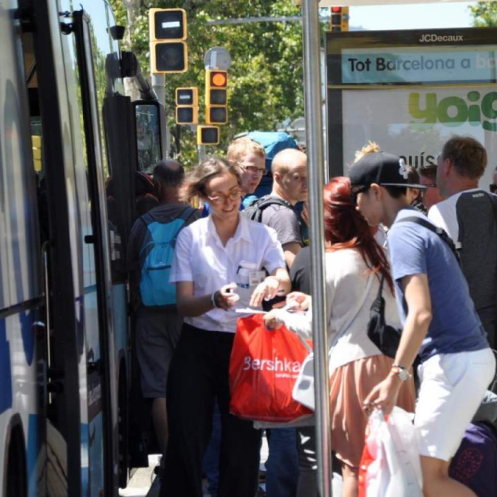 [스페인]  바르셀로나  바르셀로나 엘프라트 공항 - 바르셀로나 도심 공용 셔틀 버스 서비스 편도