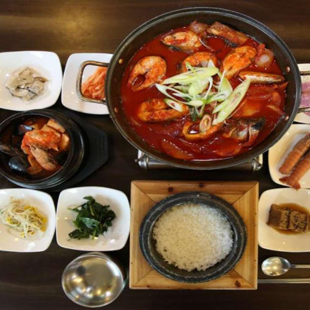 [제주도]  제주도  만조이천쌀밥 성산점 갈치조림 만조이천쌀밥 성산점
