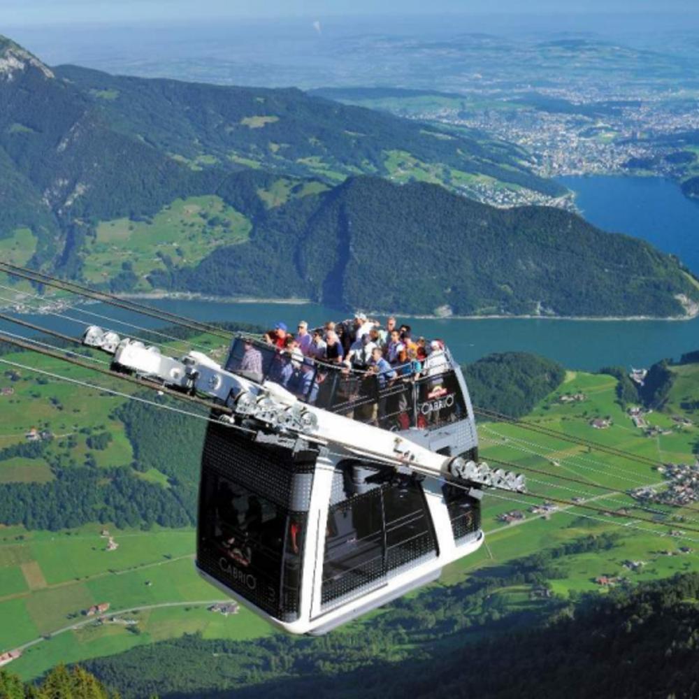 [스위스]  취리히  슈탄저호른산 투어 카브리오