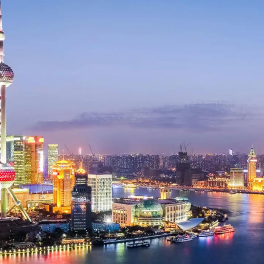 [중국]  상하이  동방명주 티켓 입장권 & 회전식 레스토랑 런치 뷔페 (11:00)