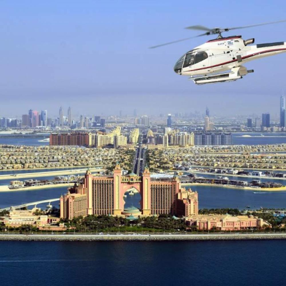 [아랍에미리트]  두바이  헬리콥터 투어 12분