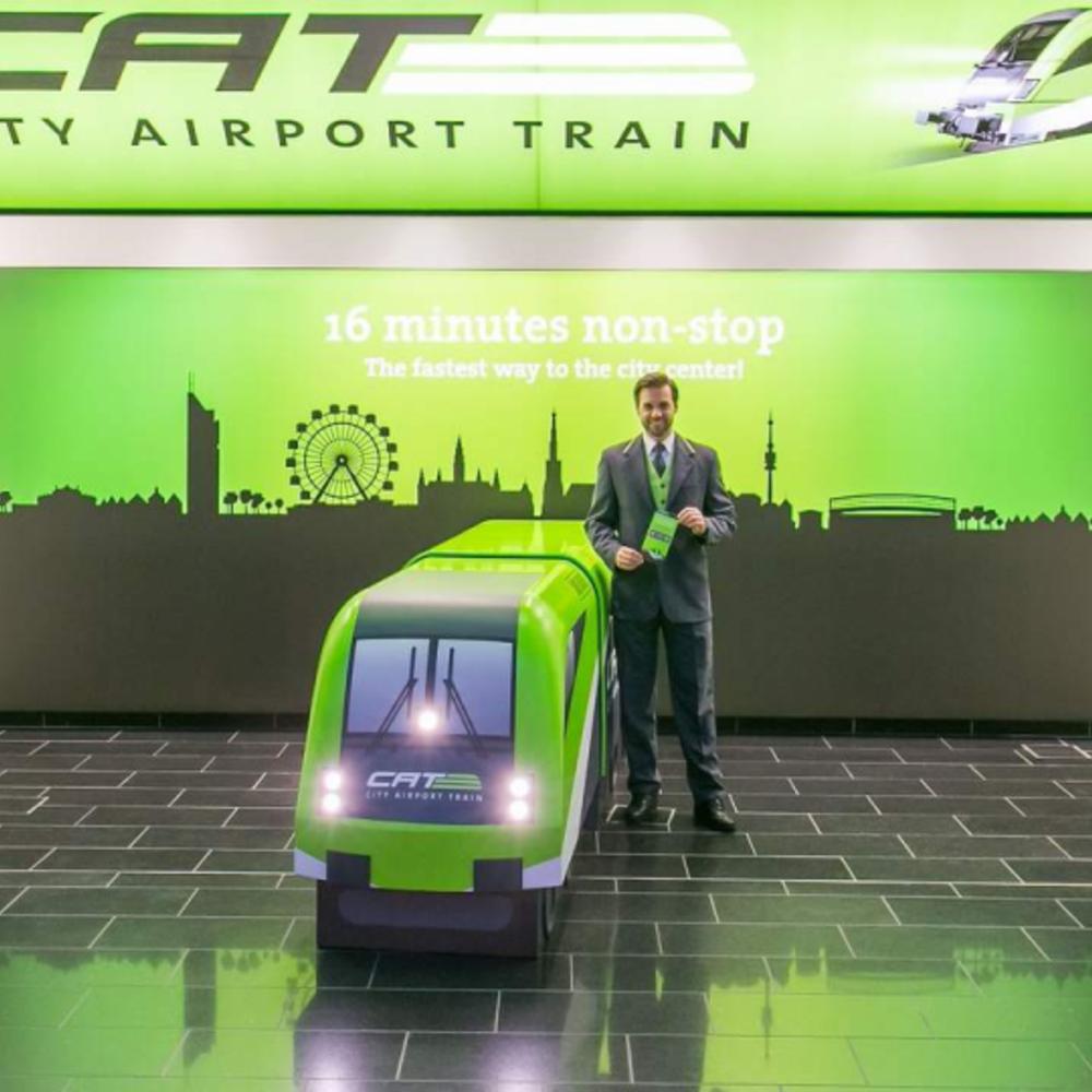 [오스트리아] |비엔나| 비엔나 공항 철도 티켓 CAT 왕복