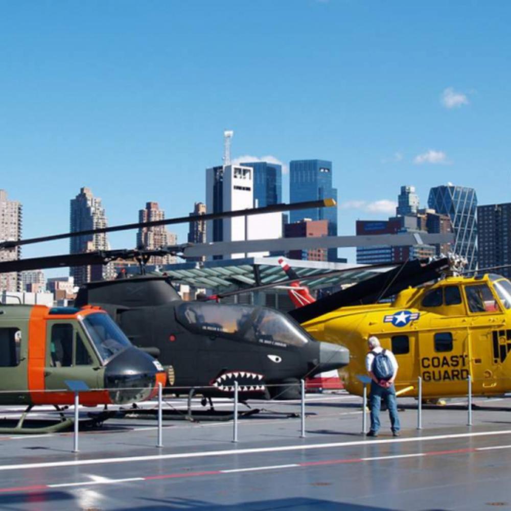 [미국] |뉴욕| 인트레피드 해양항공우주 박물관 입장권 시뮬레이터 탑승권 1장