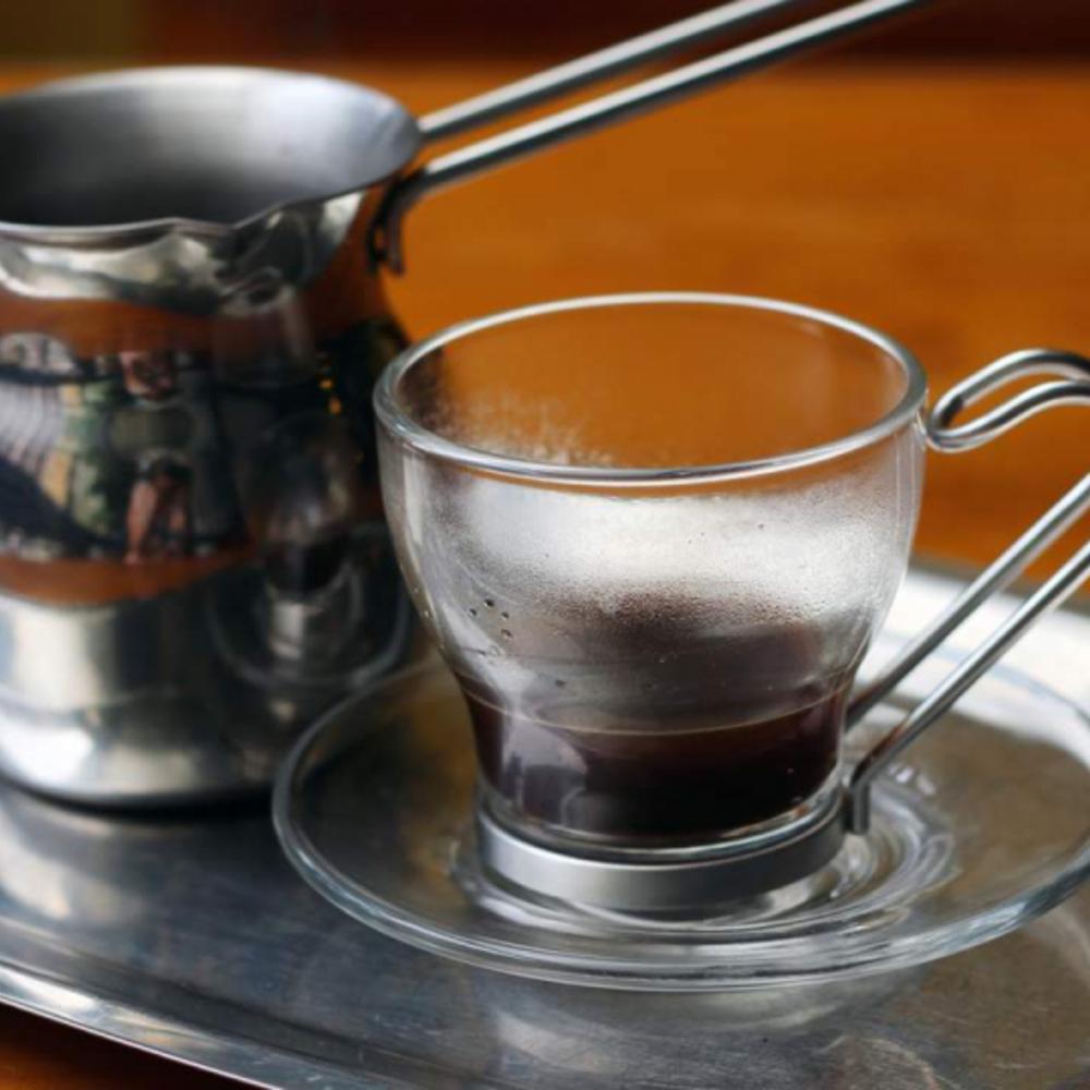 [대만] |타이페이| 그리스어 GO! 그리스식 커피 (핫)
