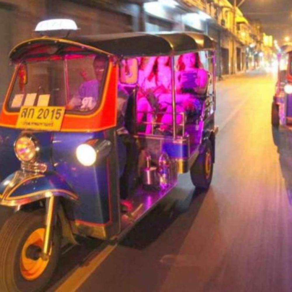 [태국]  방콕  방콕 툭툭 나이트 투어 입장권