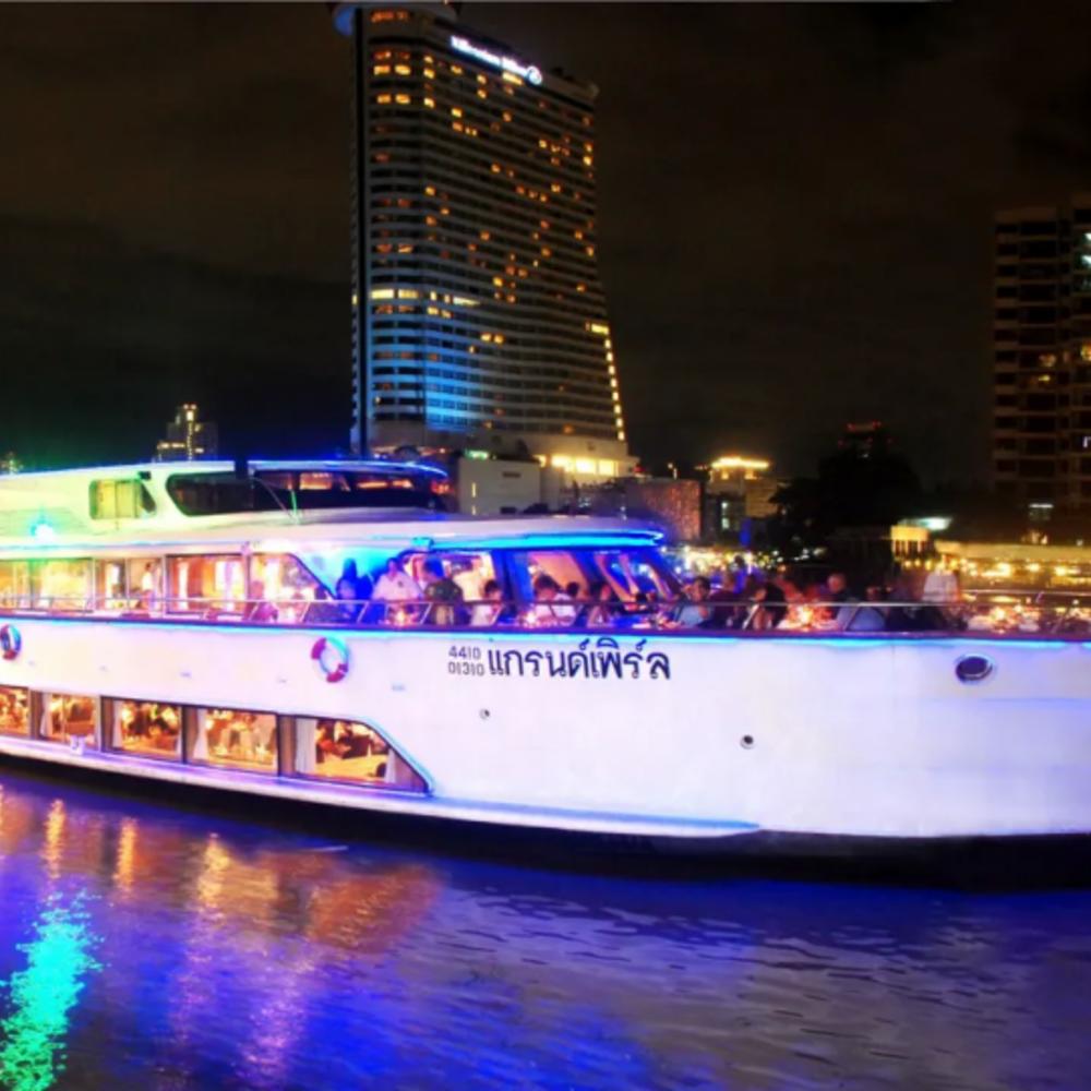 [태국] |방콕| 그랜드 펄 디너 크루즈 입장권