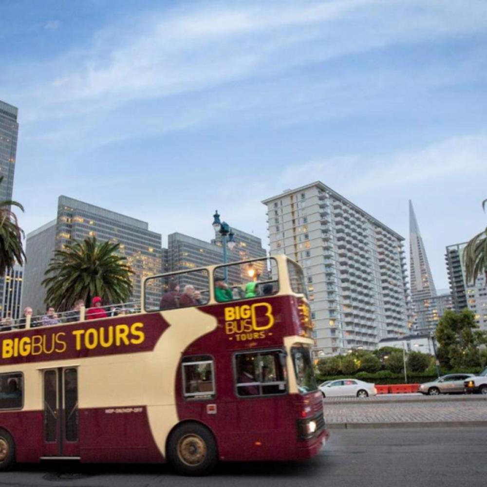 [미국] |샌프란시스코| 샌프란시스코 빅버스 시티투어 디럭스 투어