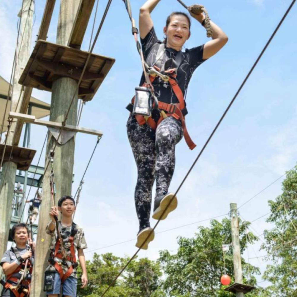 [싱가포르] |싱가포르| 메가 어드벤처 짚 클라임 점프 패키지