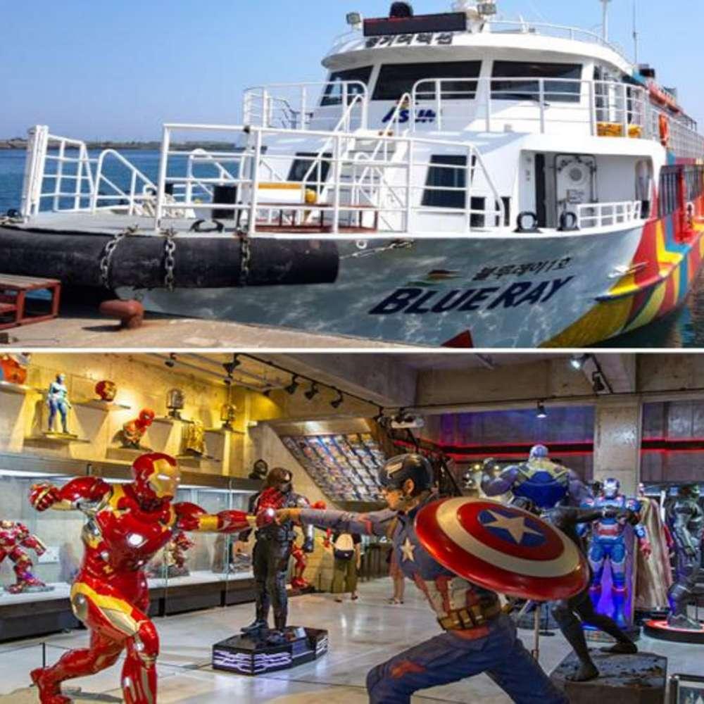 [제주도] |제주도| 가파도 왕복여객선+피규어뮤지엄 입장권