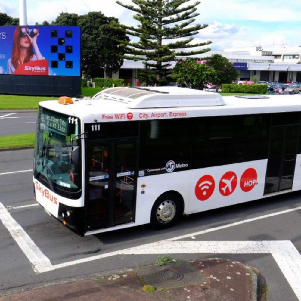 [뉴질랜드] |오클랜드| 오클랜드 공항 익스프레스 리무진 티켓 스카이버스    (왕복)