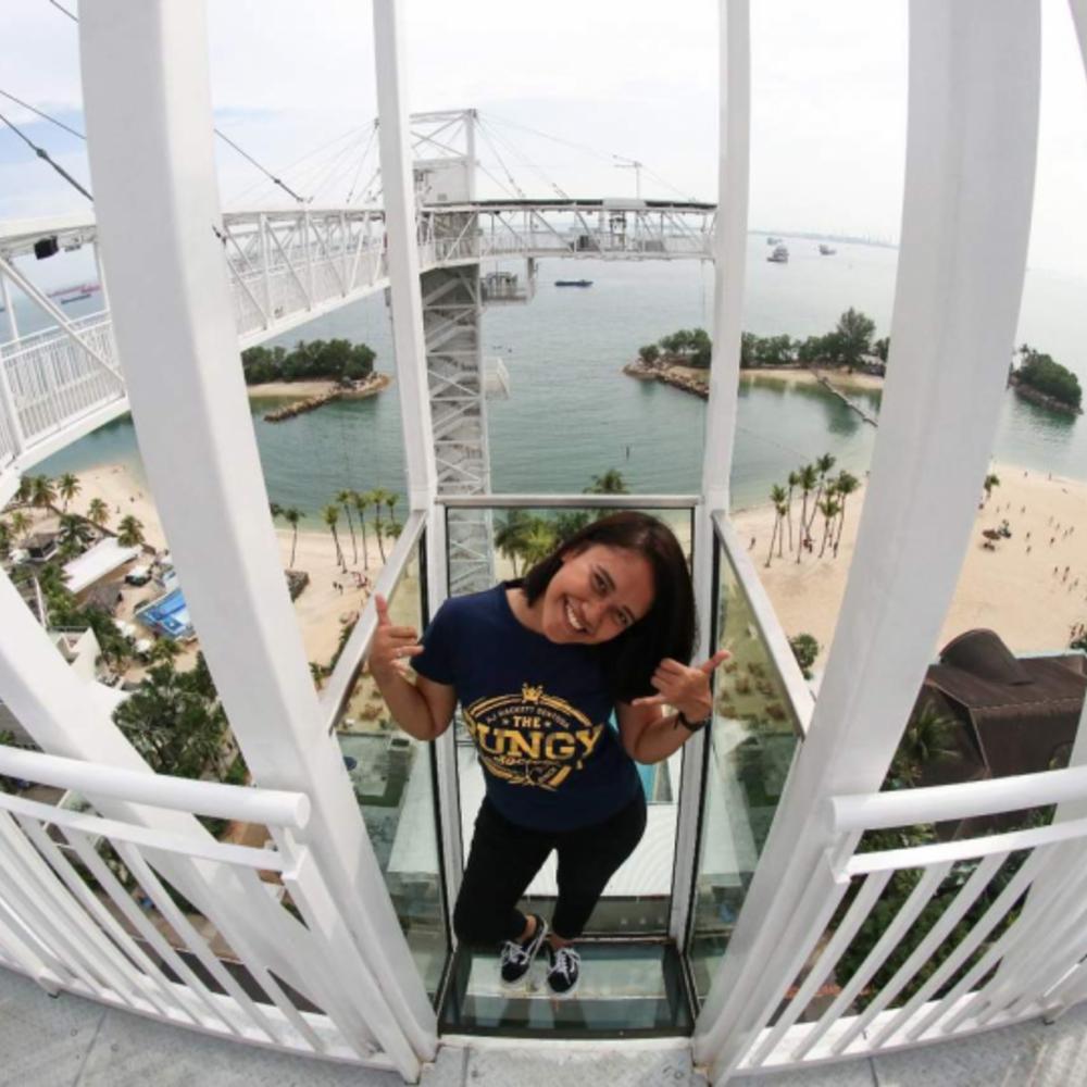 [싱가포르] |싱가포르| AJ 해킷 센토사 스카이브리지 입장권 입장권