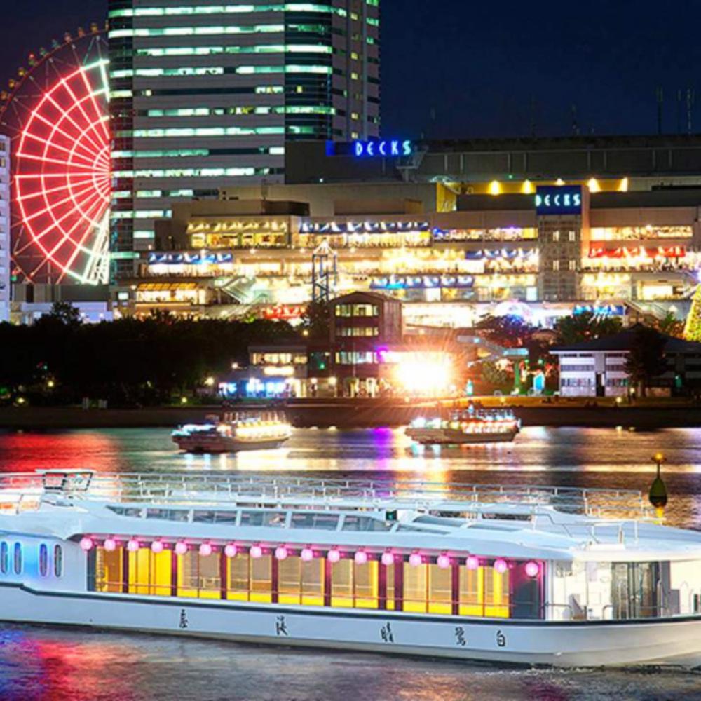 [일본] |도쿄| 도쿄 하루미야 크루즈 레스토랑 세트 메뉴
