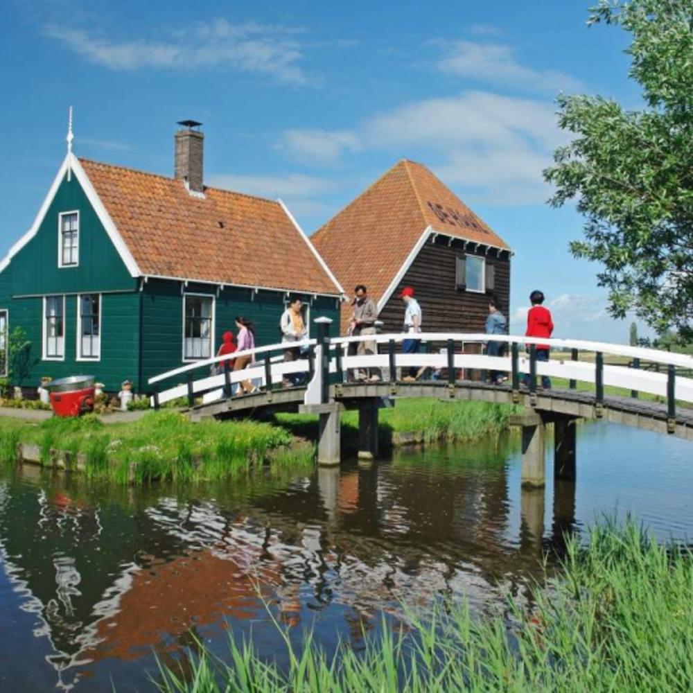 [네덜란드] |암스테르담| 잔세스칸스 반나절 투어 운하 크루즈