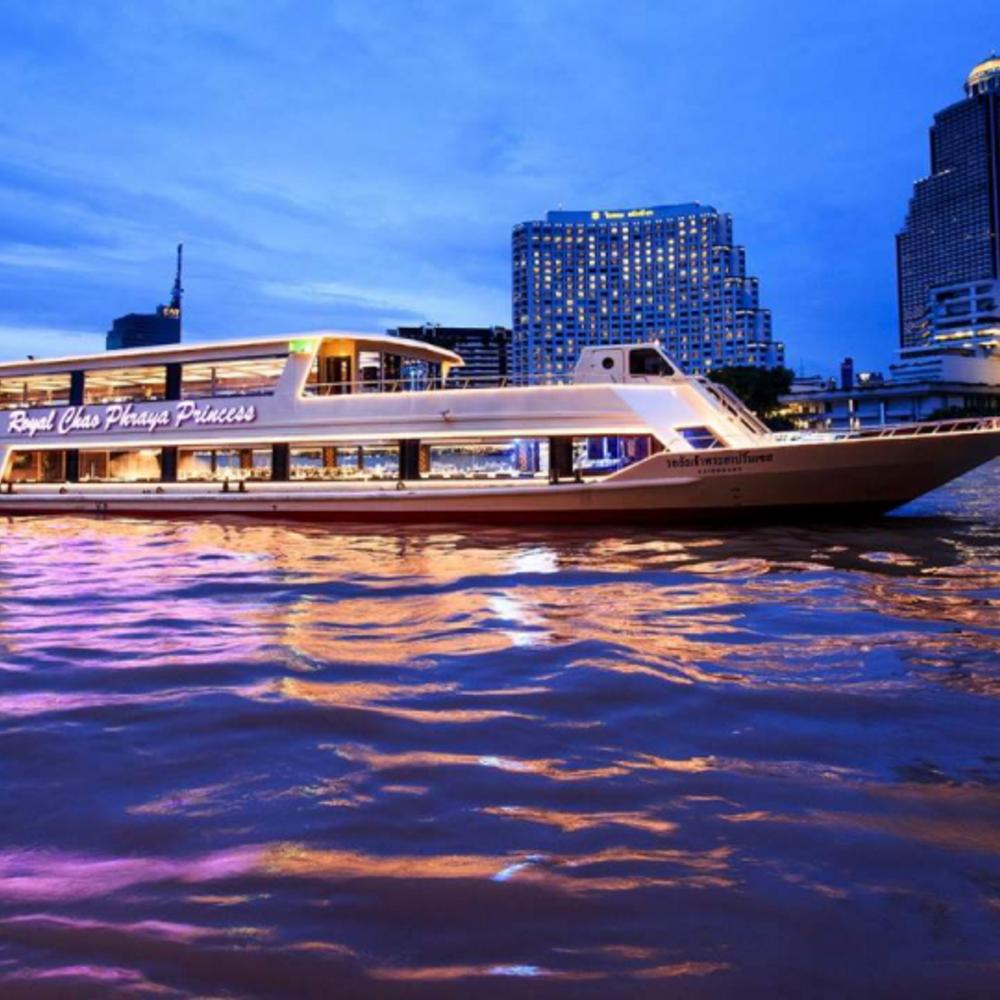 [태국] |방콕| 차오프라야 프린세스 크루즈 디너  + 인터내셔널 뷔페 (아이콘시암 선착장)