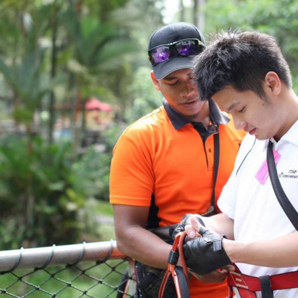 [말레이시아] |멜라카| 말라카 스카이트렉스 어드벤처 입장권 빠흘라완 스릴 (중급자) + 슈퍼 스카이딜