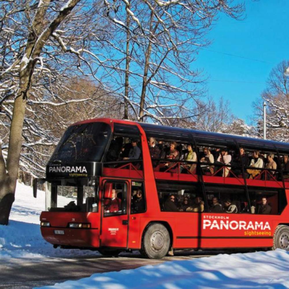 [스웨덴] |스톡홀름| 스톡홀름 파노라마 버스 투어 입장권