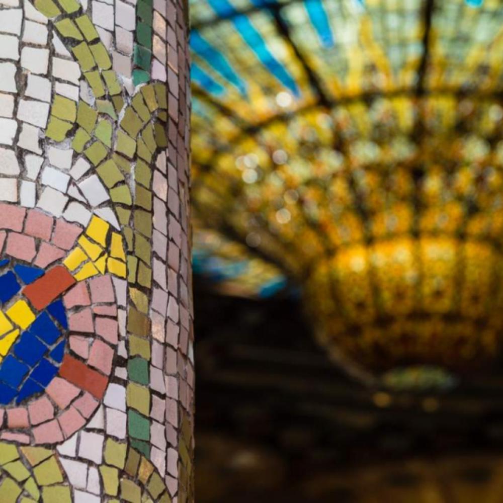 [스페인]  바르셀로나 바르셀로나카탈루냐음악당패스트트랙입장권셀프가이드투어·선택안함·라이브오르간콘서트