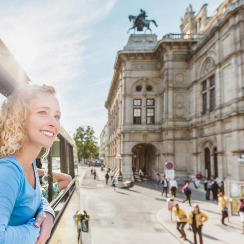 [오스트리아] |비엔나| 비엔나 시티투어 버스 24시간  티켓 (4월-10월)