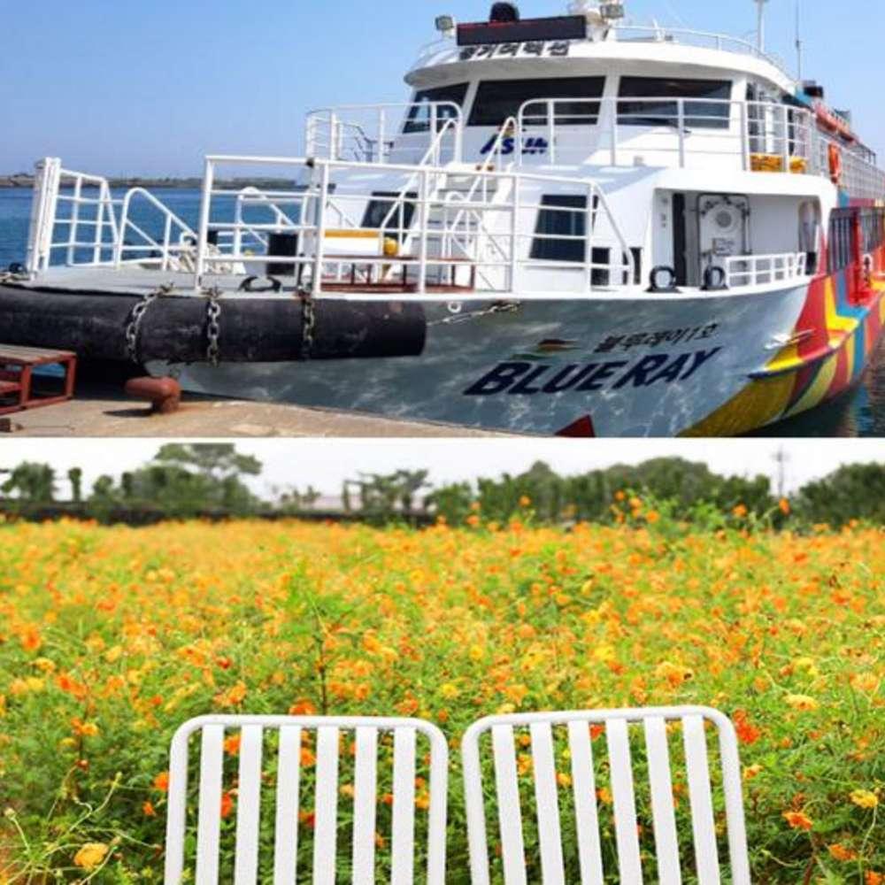 [제주도] |제주도| 가파도 왕복여객선+카멜리아힐 입장권