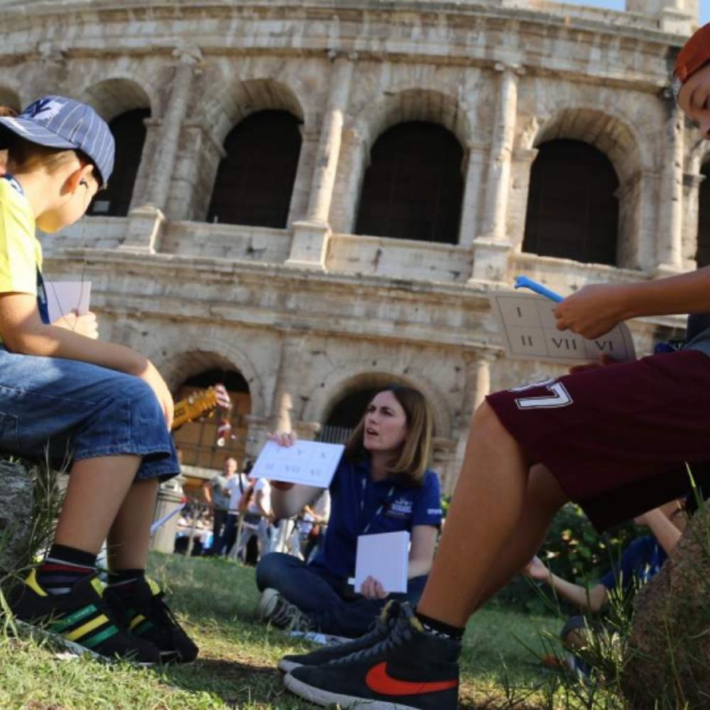 [이탈리아]  로마  로마 콜로세움 & 포로 로마노 인터랙티브 패밀리 워킹 투어 노