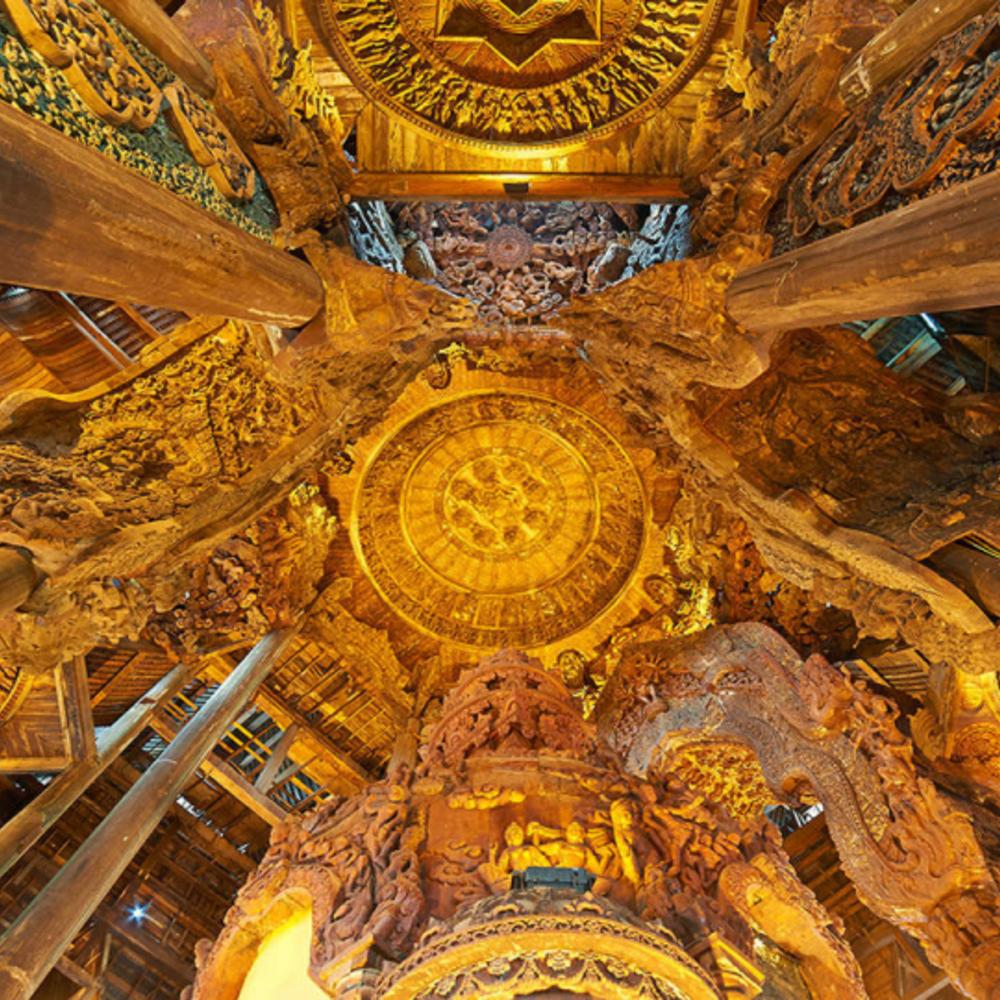 [태국] |파타야| 파타야 진리의 성전 입장권 일반 보트 탑승