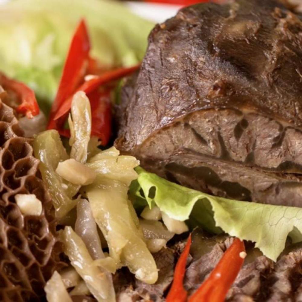 [대만]  타이페이  쿵푸 브레이즈드 디쉬 삶은 돼지고기 다리 320g