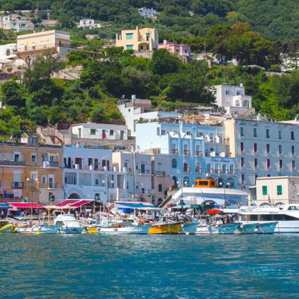 [이탈리아]  로마  카프리 섬 & 블루 그로토 일일 투어 이동 및 페리 티켓 (T12 FD) +