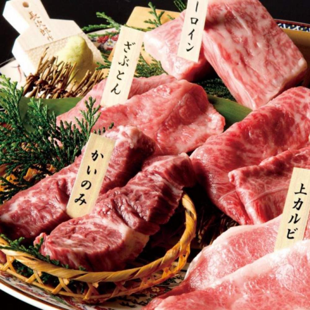 [일본] |도쿄| 긴자 엔조 - 고급 와규 야키니쿠 럭셔리 쿠로게  & 고베규 코스 (예약)