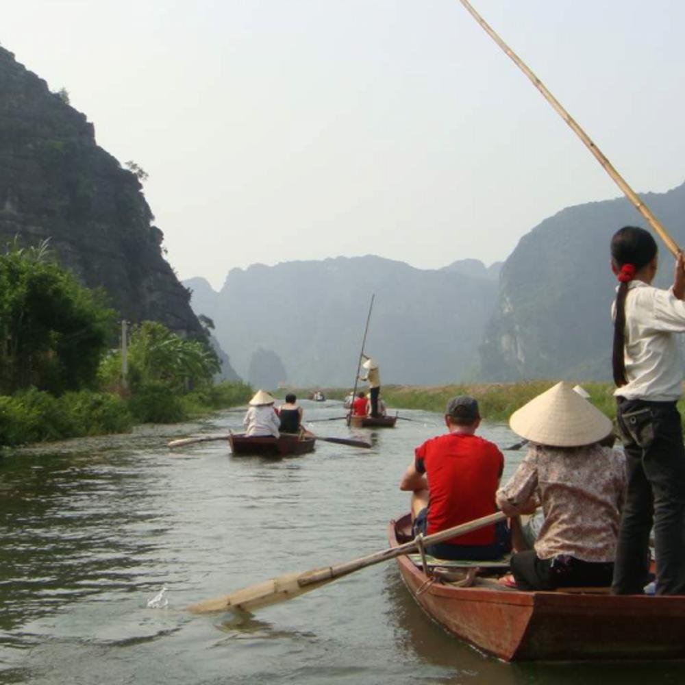 [베트남] |하노이&하롱베이| 의 고대 수도 & 카르스트 사이클링 베트남   호아루
