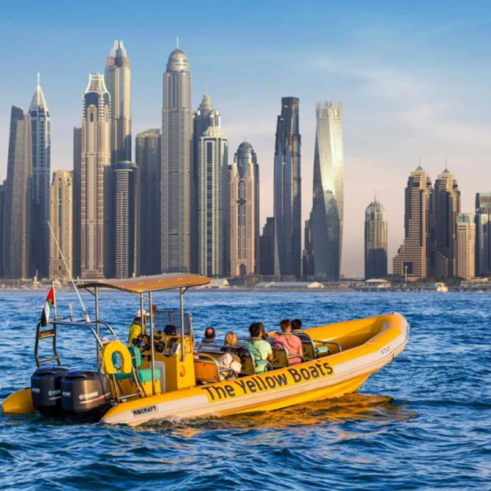 [아랍에미리트] |두바이| 아틀란티스 & 팜 주메이라 & 버즈 알 아랍 & 두바이 마리나 보트 투어 75분
