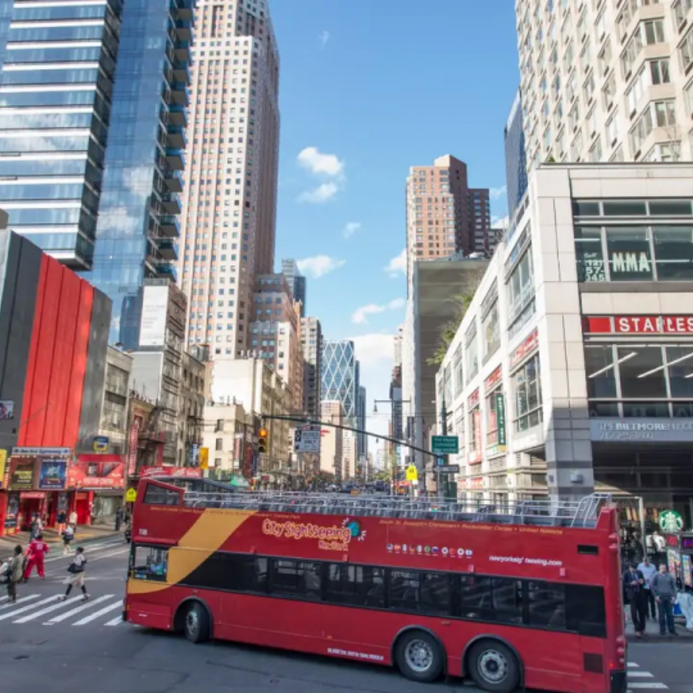 [미국] |뉴욕| 뉴욕 시티투어 버스 패스 업타운 & 다운타운 + 어트랙션 2개 (3일)