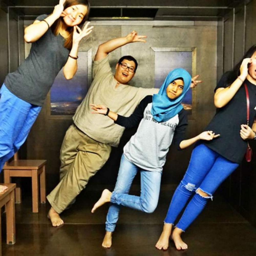[말레이시아]  페낭  페낭 3D 트릭 아트 뮤지엄 입장권 말레이시아 외 타국적 방문객