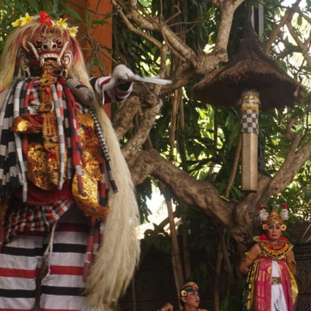 [인도네시아] |발리| 사하데와 바롱 댄스 컬쳐 쇼 티켓 케착 앤 파이어  컬처