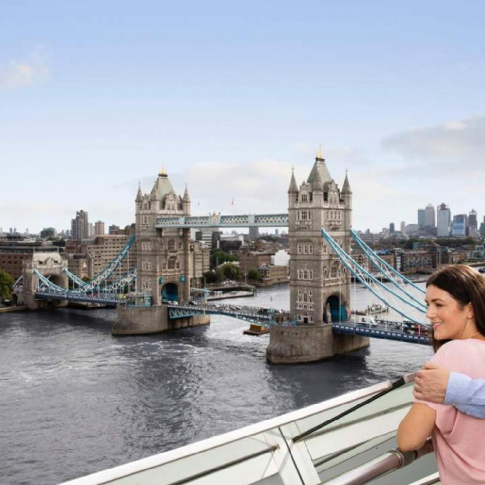 [영국]  런던  런던 패스 + 시티투어 버스 일일 투어 실물 티켓 · 5일 · 오이스터 카드