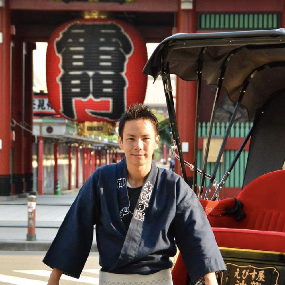 [도쿄] 일본 도쿄 아사쿠사 인력거 투어