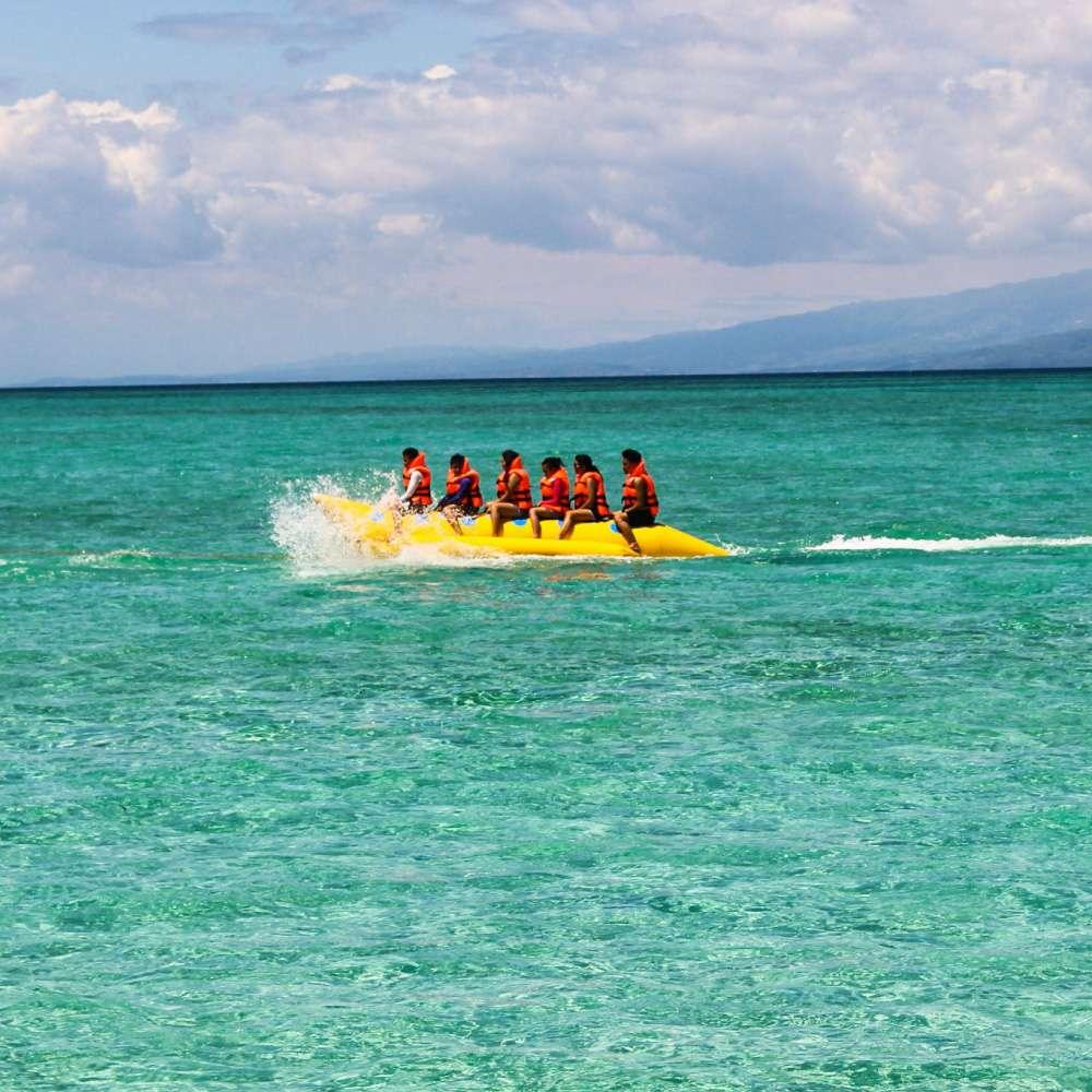 [보라카이] [액티비티] 바나나 보트 banana Boat