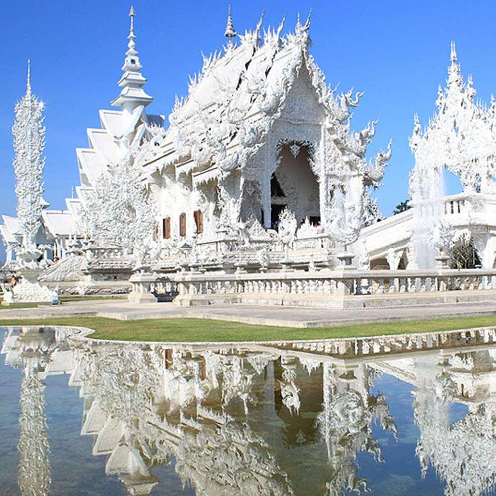 [태국/치앙라이] 치앙라이 골든트라이앵글/백색사원/목긴마을 1일 관광