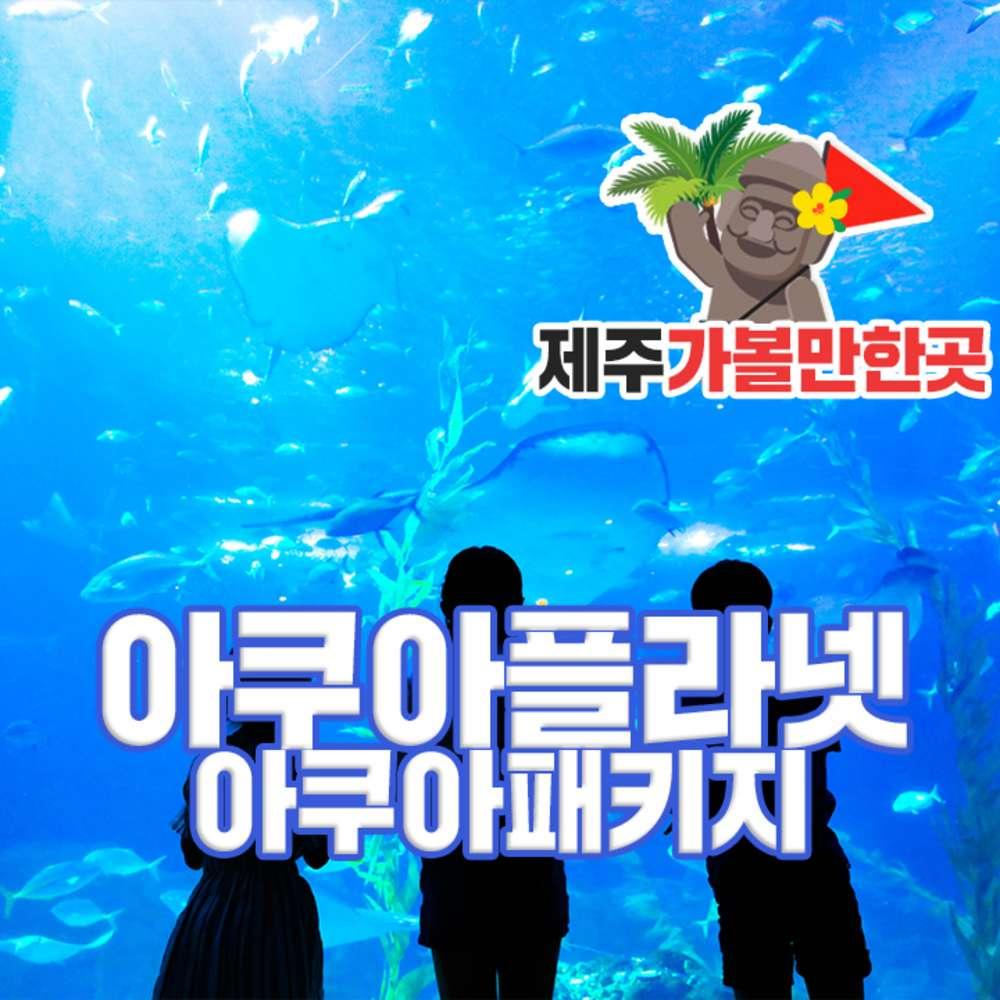[제주] 아쿠아플라넷 AQ패키지권+제주 가볼만한곳