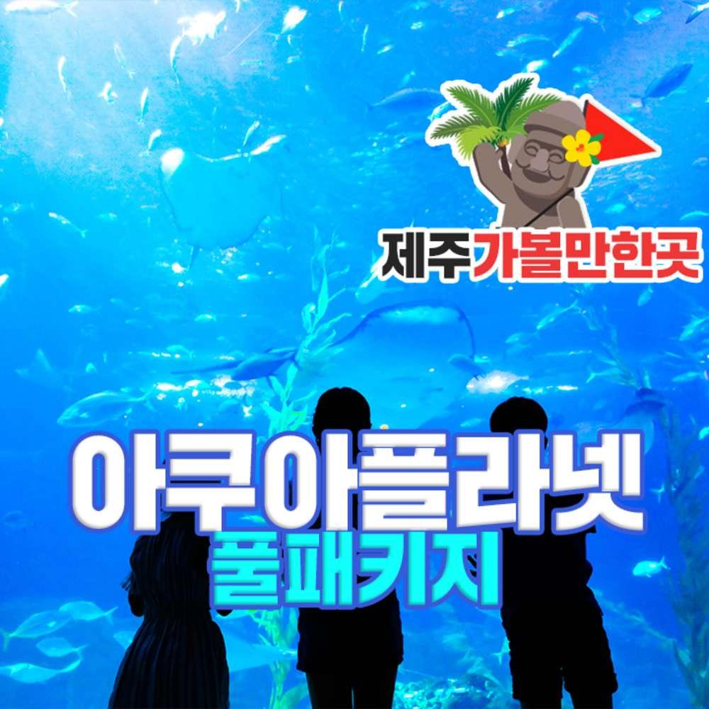 [제주] 아쿠아플라넷(풀패키지권)+제주가볼만한곳