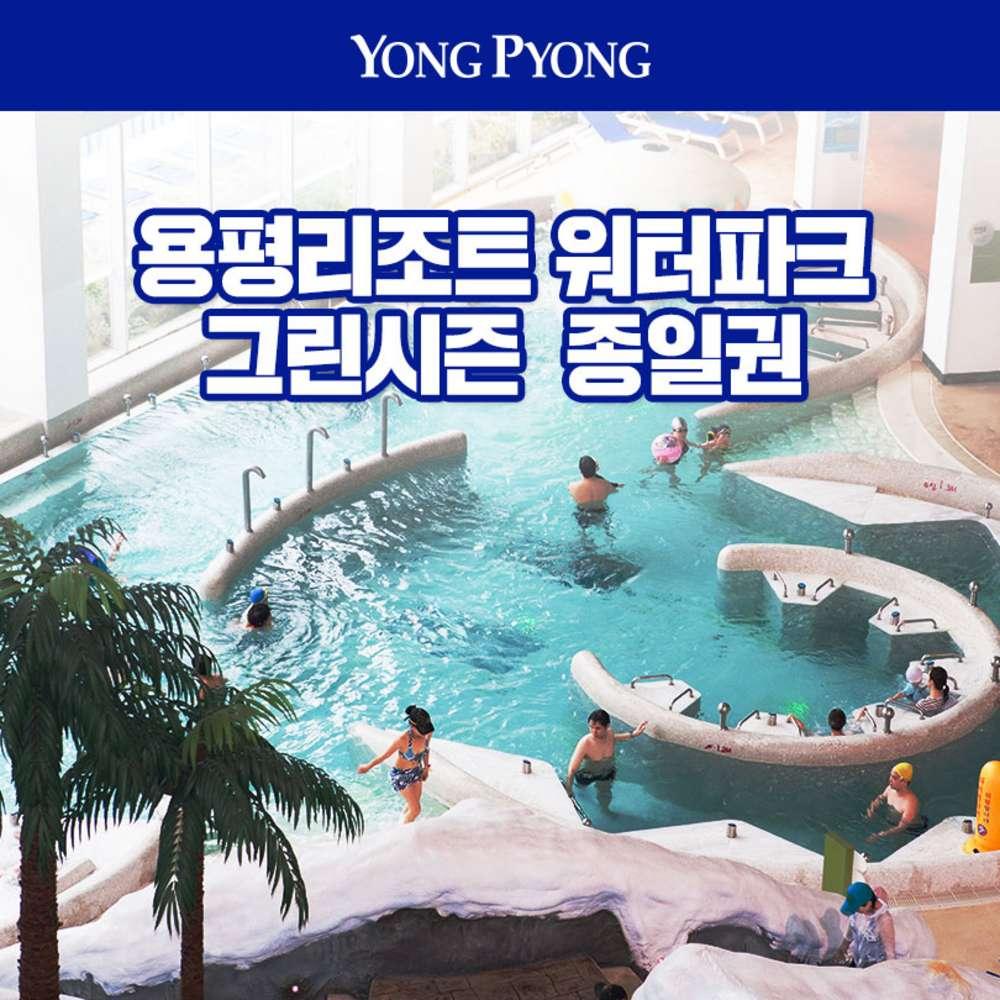 [강원] 2020 용평리조트 워터파크 그린시즌 입장권(~10.31)