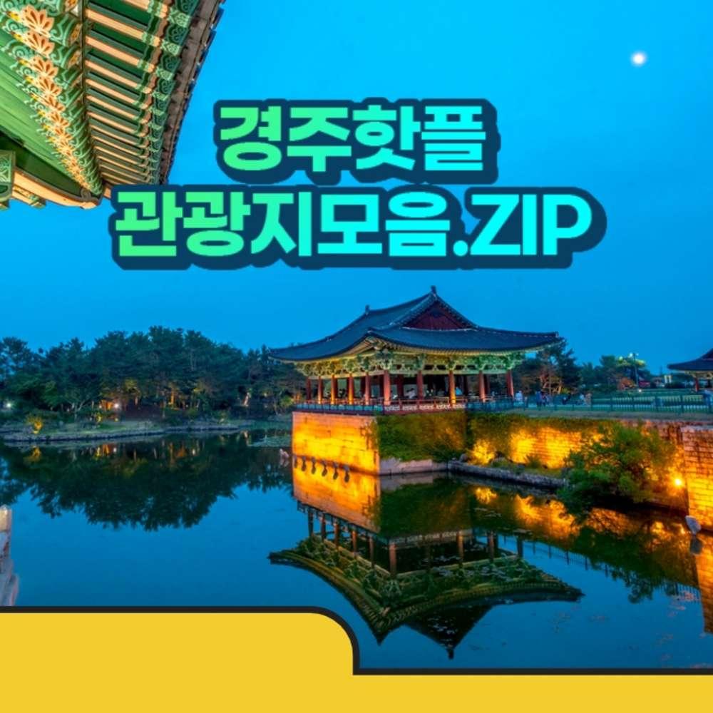[경주] 경북나드리 경주 핫플 관광지모음.zip(동궁과월지+대릉원+경주박물관 입장권 택1)