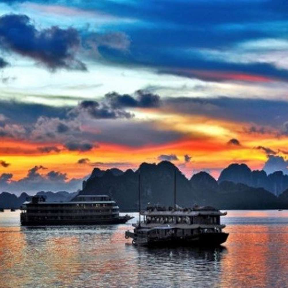 [베트남] 하롱베이 어메이징 세일 익스플로러 크루즈 투어