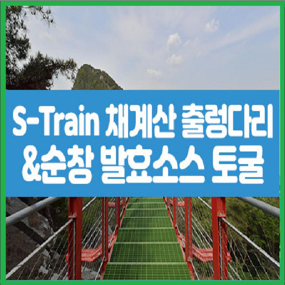 [전라] ★대구/경북出★S-Train+채계산 출렁다리+순창 발효소스 토굴 당일