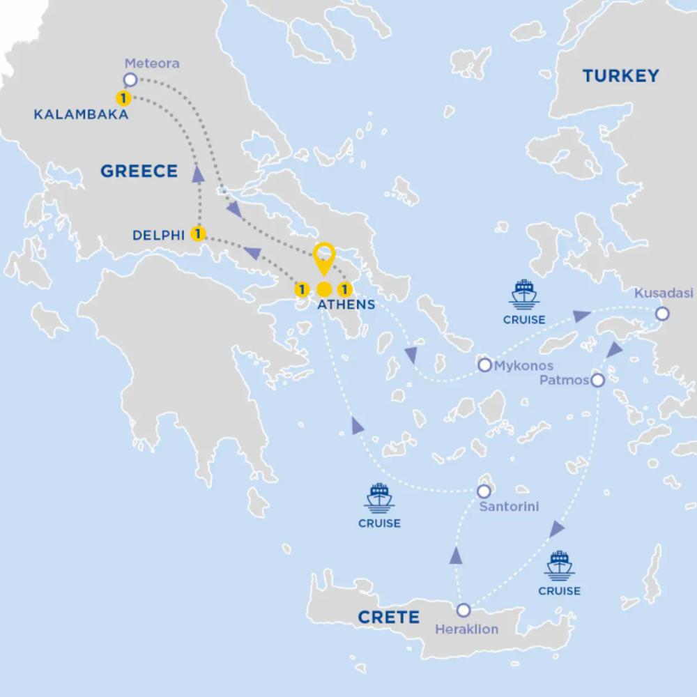 [유럽/그리스] 8일간 즐기는 그리스에서의 완벽한휴가, 진짜 휴가를 경험하세요! 직장인,가족여행 추천!